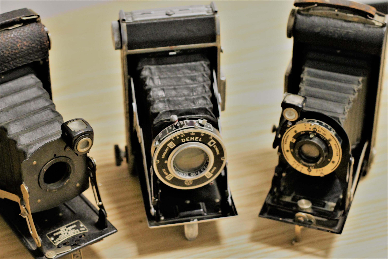 appareil photo ancien à soufflet - Appareil photo à soufflet
