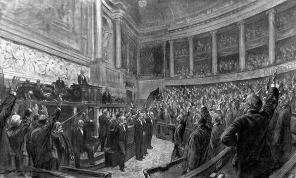 chambre des députés 1914