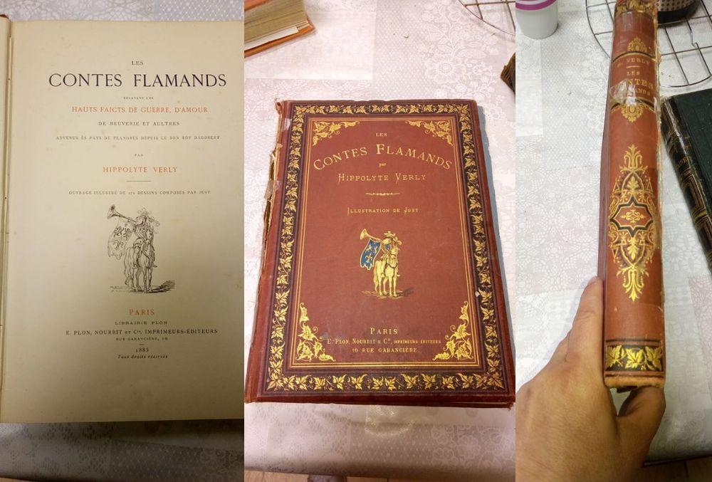 Les Contes Flamands de Hippolyte Verly - 1885