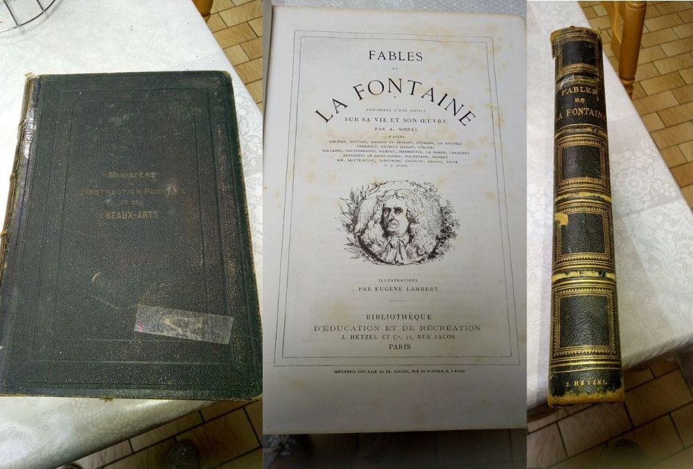 Les Fables de La Fontaine de A. Morel - 1880