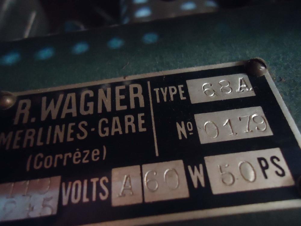 Poste Radio à lampes R-Wagner Merlines