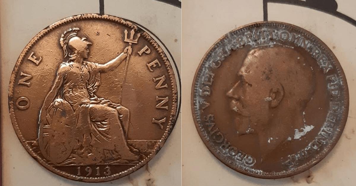 un penny 1913