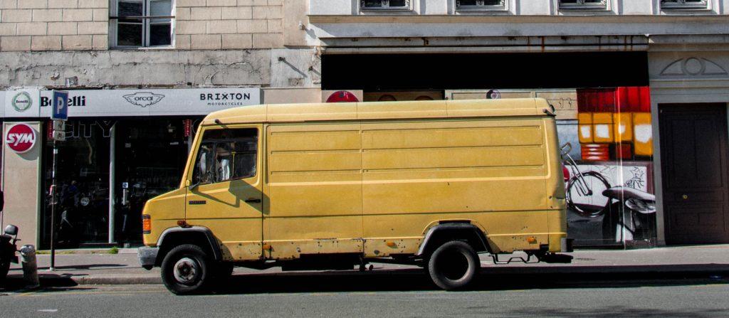 Camionnette - bien acheter en brocante