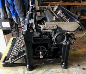 machine a ecrire underwood
