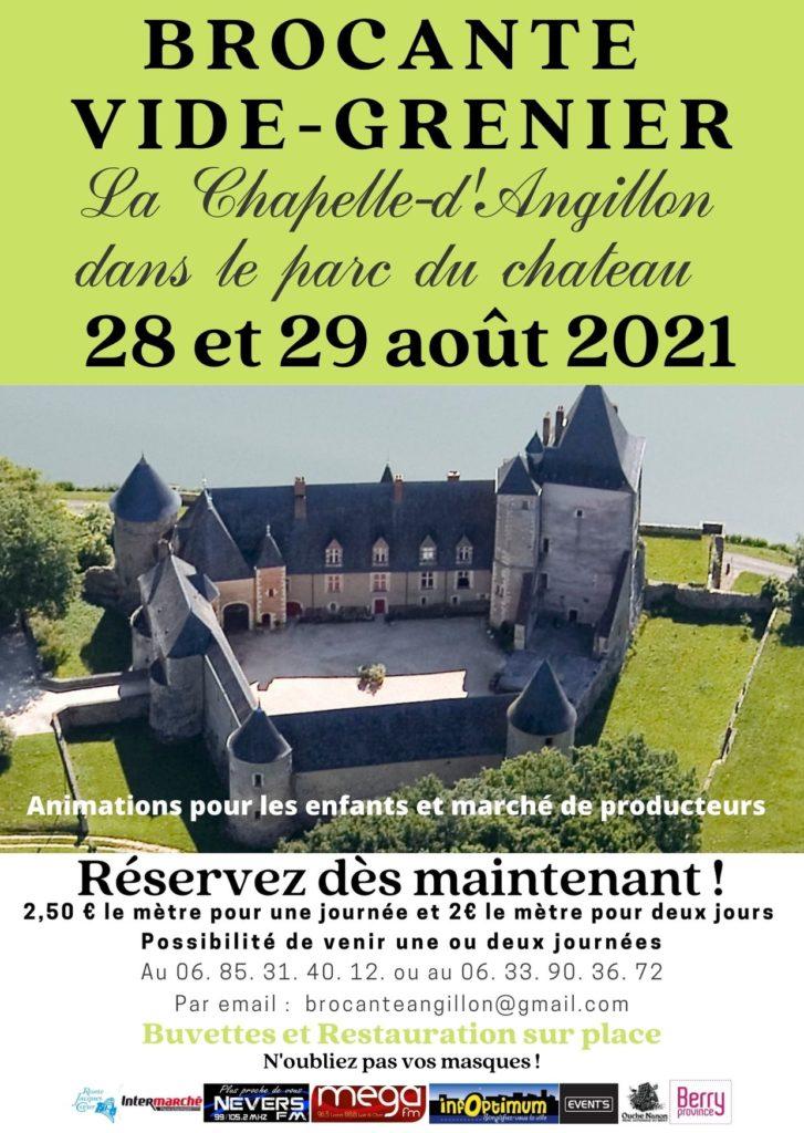 vide Grenier au château de la Chapelle d'Angillon
